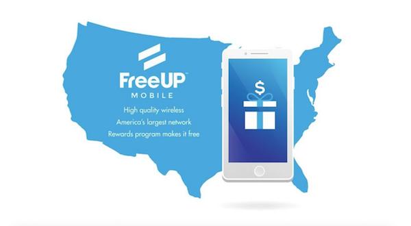 USA FreeUp forfait gratuit comme blu.