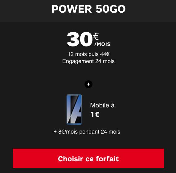 La vente flash de SFR avec un Mate 10 Pro de Huawei.
