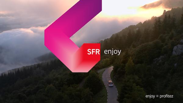 SFR Enjoy nouvelle identité graphique pour nouveau départ.