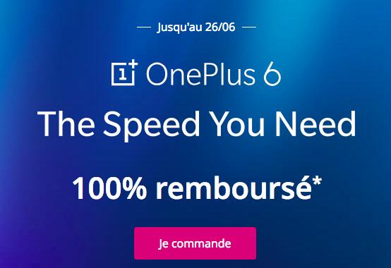 la promotion de Bouygues Telecom sur le OnePlus 6