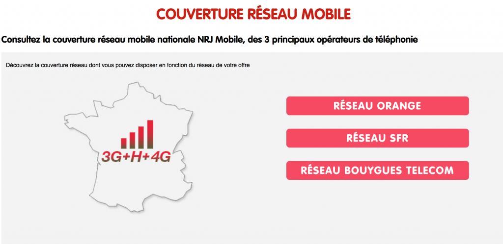 Réseaux NRJ Mobile