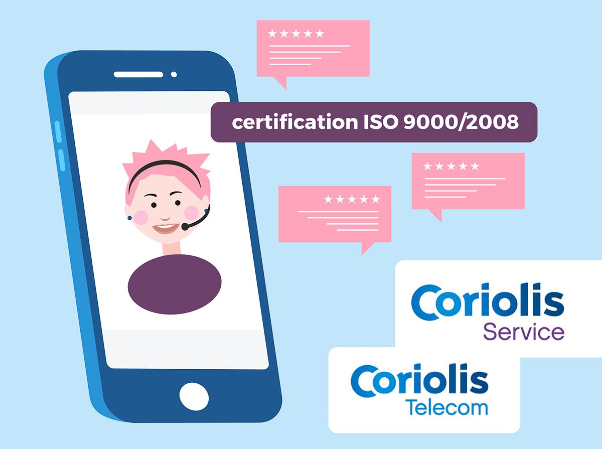 Service client Coriolis