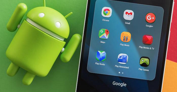 Android de Google équipe la majorité des Smartphones.