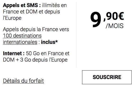 Le forfait mobile de Syma Mobile est à bas prix.