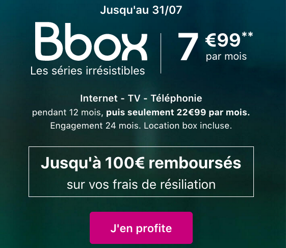 Une box internet pas cher avec le forfait mobile de Bouygues Télécom.