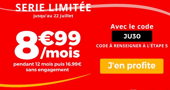La promotion Auchan Télécom.