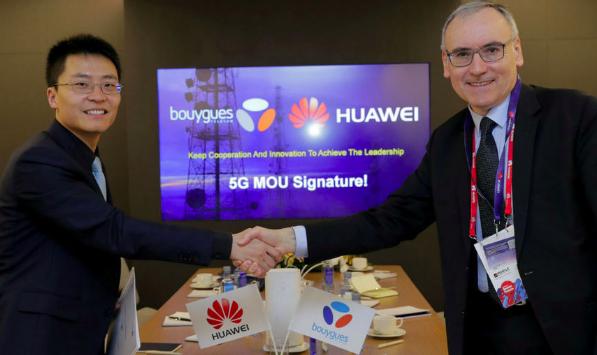 Bouygues Telecom et Huawei développent la 5G ensemble