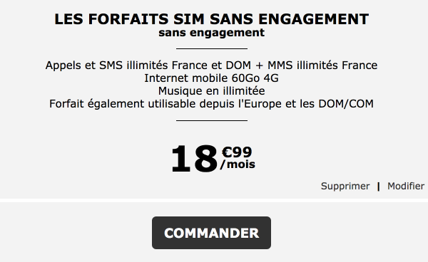 La poste mobile forfait 4G pas cher