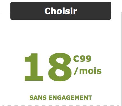 Un forfait mobile pas cher chez La Poste Mobile.