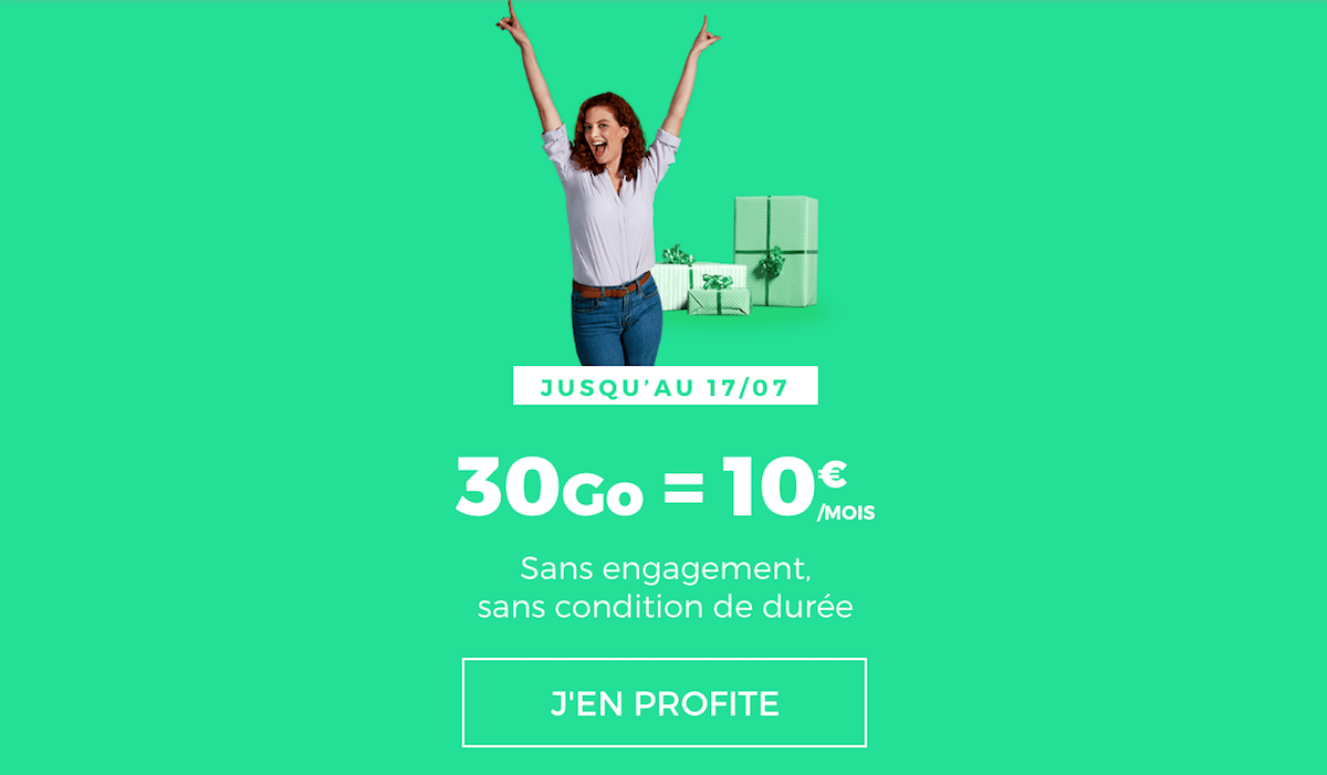 Forfait mobile RED by SFR réduction