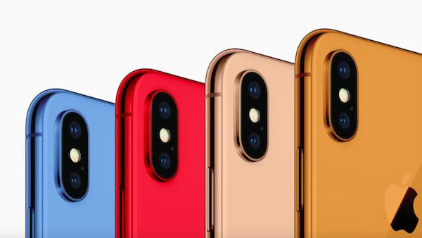 iPhone LCD couleurs différentes