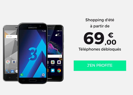 RED by SFR brade les téléphones portables à prix cassés