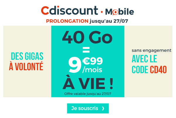 prixtel vs cdiscount mobile quel forfait 4g sans engagement choisir. Black Bedroom Furniture Sets. Home Design Ideas