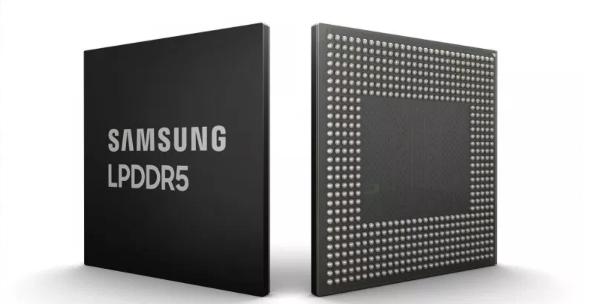 Puce DRAM Samsung.
