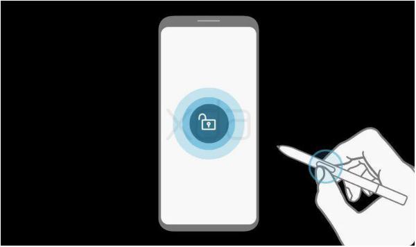 Samsung S-Pen déverrouillage smartphone