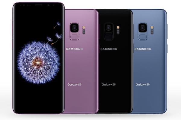 Peu de ventes Samsung Galaxy S9 et S9+.