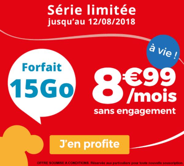 Forfait 4G pas cher chez Auchan Telecom