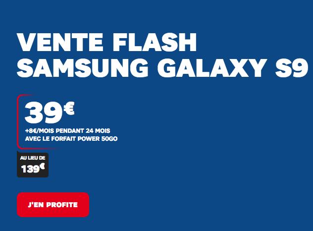 Vous aimez les ventes flash et les smartphones de qualité ? SFR propose un bon plan sur le Samsung Galaxy S9.