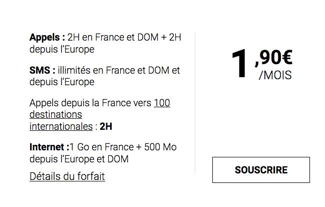 Syma Mobile, expert en petit prix, propose un forfait mobile à moins de 2€/mois.