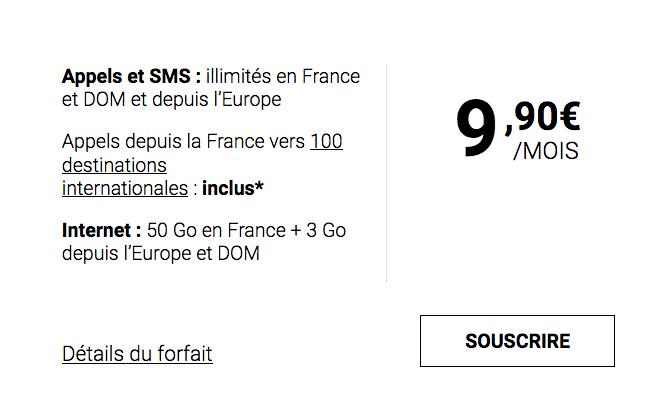 9,90€ pour ce forfait tout inclus et pas cher chez Syma Mobile.