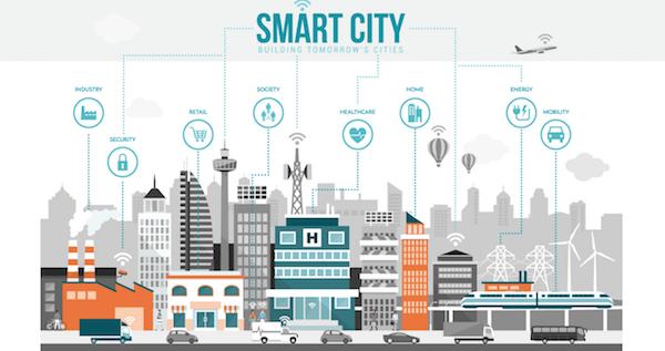 Grâce à 5G ville plus intelligente et sûres