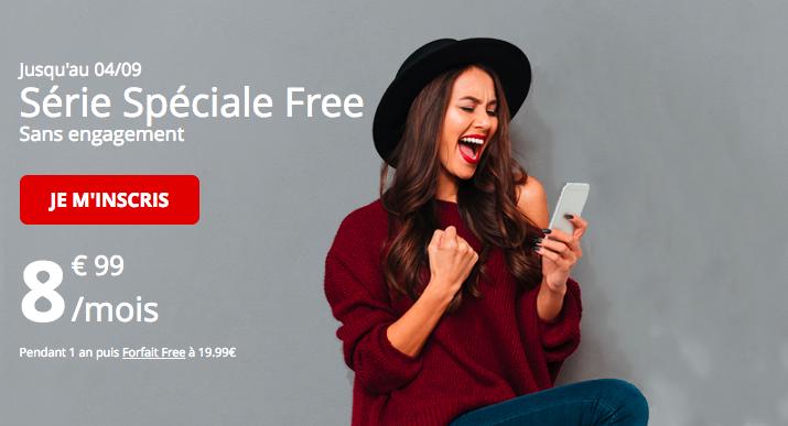 L'offre spéciale de Free 60 Go.