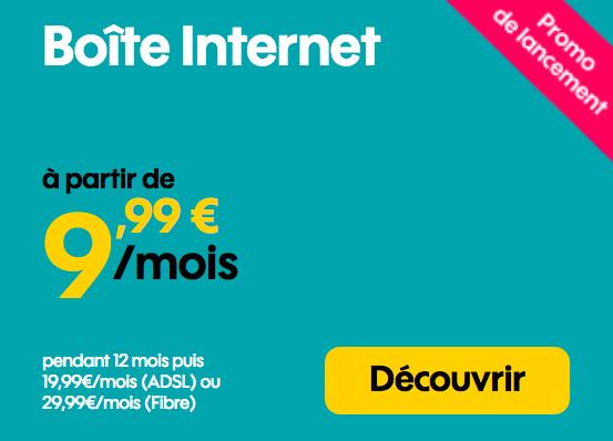 la box internet de Sosh à 9,99€.