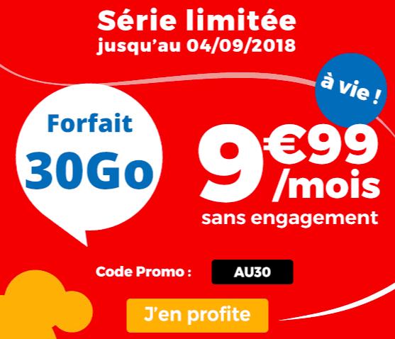 le forfait promo auchan telecom