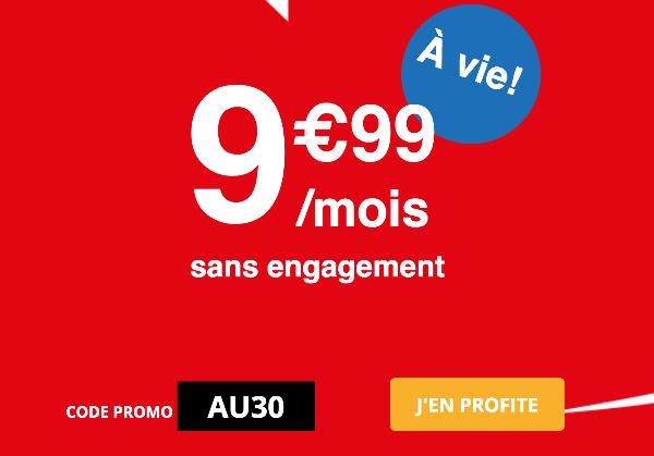 Auchan Mobile forfait 30 Go pas cher promotion