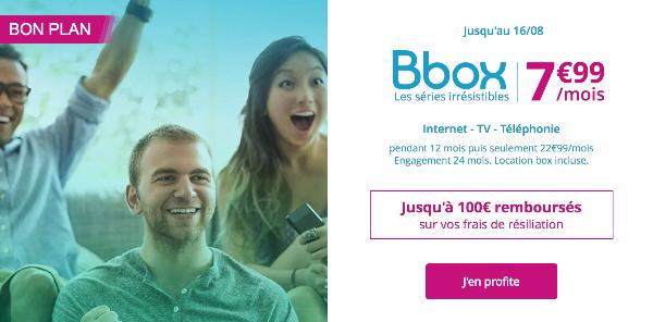 forfait mobile 4G pas cher sans engagement Bouygues Telecom B&YOU