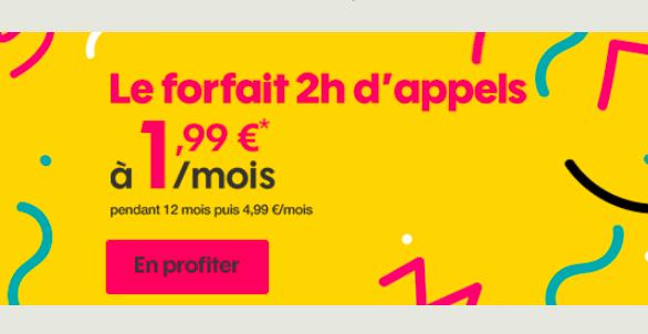 Le forfait bloqué 50 Mo de Sosh pas cher