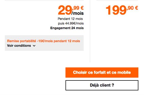 Le Huawei Mate 10 pro pas cher avec un forfait Orange.