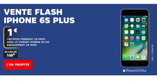 L'Apple iPhone 6S en promo vente flash chez SFR
