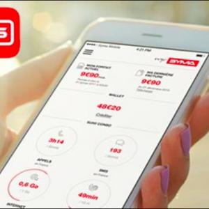 L'application pour suivre les promos Syma Mobile.