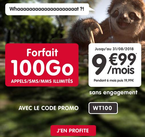 Le forfait pas cher de NRJ Mobile pour accéder à Netflix avec 100 Go en 4G.