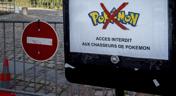 Interdiction téléphone portable fin pokemon go collège