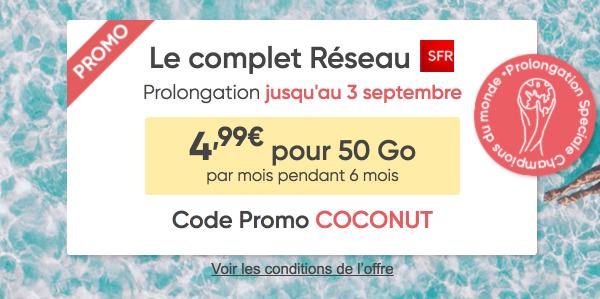 Prixtel forfait mobile Le complet promotion 4G.
