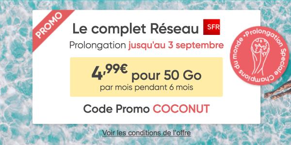 Prixtel Le complet 50 Go promotion