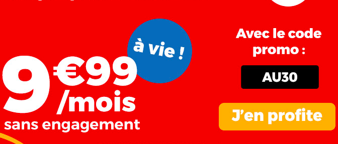 La promo sur le forfait Auchan Télécom