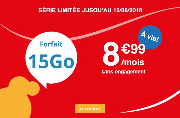 Auchan Télécom promotion forfait mobile