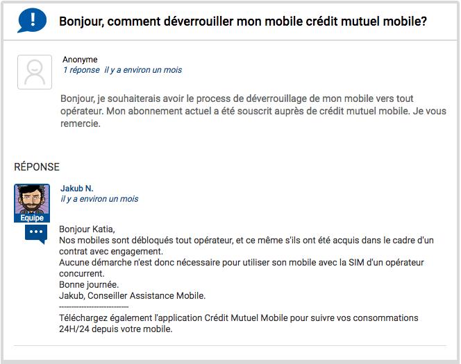 Contacter le service client EI Telecom de CIC Mobile et Crédit Mutuel Mobile.