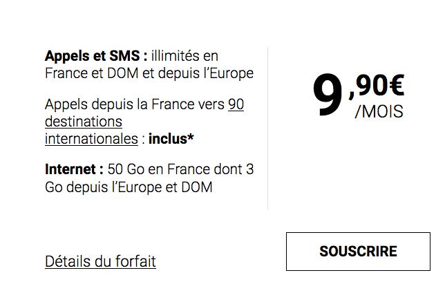Syma Mobile et l'avantageux forfait mobile pas cher avec 50 Go d'Internet.