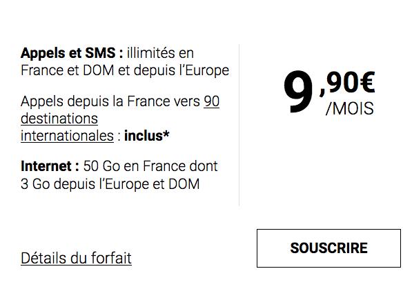 9,90€/mois pour ce forfait pas cher de Syma Mobile avec 50 Go.