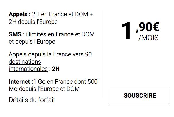 Syma Mobile et le forfait mobile sans engagement à moins de 2€/mois.