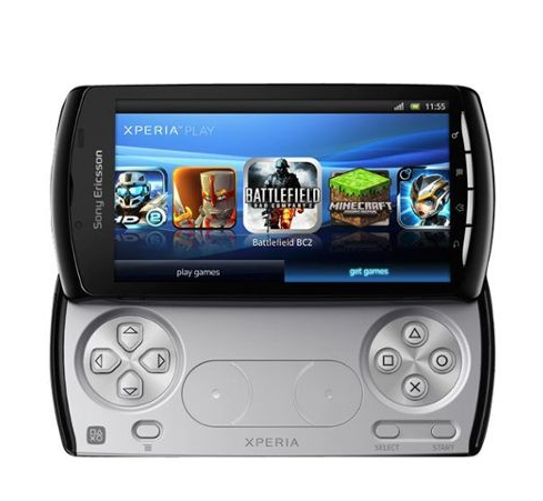 Xperia Play de Sony, smartphone gaming.