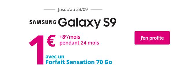 L'offre Sensation 70 Go de Bouygues Télécom.