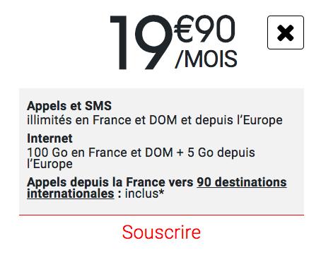 100 Go avec Syma Mobile.