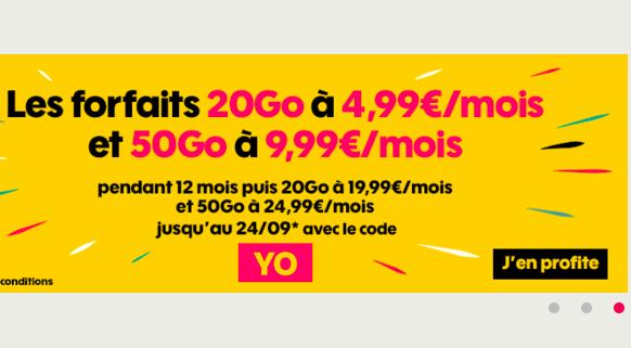 Le code promo pour un forfait pas cher et un iPhone chez Sosh