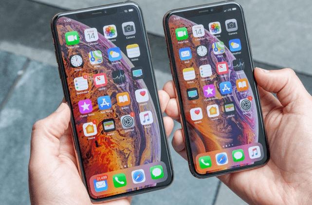 iPhone XS Max se vendent mieux que iPhone X d'Apple.