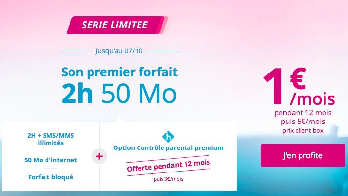 Le forfait bloqué pas cher de Bouygues Telecom